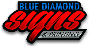 Blue Diamond Signs